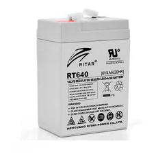 Акумуляторна батарея RT640 6V 4 Ah AGM RITAR