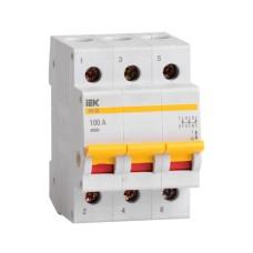 Вимикач навантаження IEK MNV10-3-100 ВН-32 3Р 100А