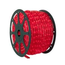 Провід сяючий Feron LED 2-полосний червоний
