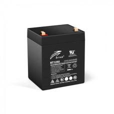 Акумуляторна батарея RT1250B 12V 5 Ah AGM чорний RITAR