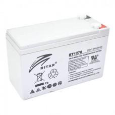 Акумуляторна батарея RT1270A 12V 7Ah AGM сірий RITAR