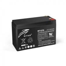 Акумуляторна батарея RT1270B 12V 7 Ah AGM чорний RITAR