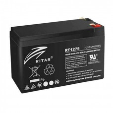 Акумуляторна батарея RT1275B 12V 7,5 Ah AGM чорний RITAR