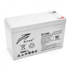 Акумуляторна батарея RT1280 12V 8Ah AGM сірий RITAR