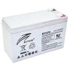 Акумуляторна батарея RT1270 12V 7 Ah AGM RITAR
