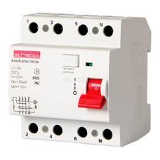 Диференціальний вимикач e.rccb.pro.4.100.100 4p 100А 100 мА  E-next