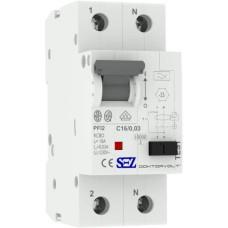 Диф автомат SEZ PFI2 C 20A/0,03A (PFI2C_20A/0,03A)