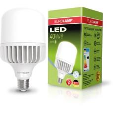 Лампа надпотужна LED 40W E27 6500K EUROLAMP