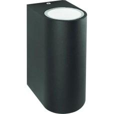 Фасадний світильник Feron DH015 Чорний MR16 (11883)