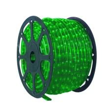 Провід сяючий Feron LED 2-полосний зелений