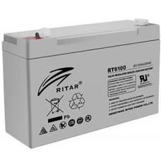 Акумуляторна батарея RT6100 6V 10 Ah AGM RITAR