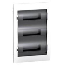 Щит врізний 36 модулів 3 ряди з Димчатою дверкою Easy9 Box Schneider Electric EZ9E312S2F
