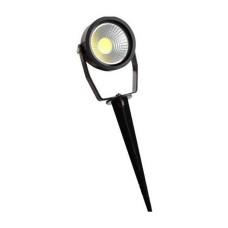 Світильник грунтовий LED 9W 6500K чорний LM982 Lemanso