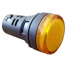 Світлосигнальна арматура AD22-22DS жовта 220V АC/DC Takel
