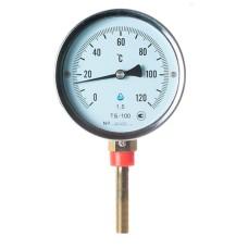 Термометр біметалічний ТБ-100-50 (0...+120)-1,5-Р Склоприлад