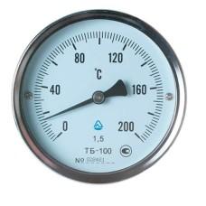 Термометр біметалічний ТБ-100-50 (0...+200)-1,5-О Склоприлад