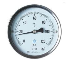 Термометр біметалічний ТБ-63-160 (0...+120)-2,5-О Склоприлад