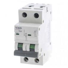 Автоматичний вимикач 4VTB-2C 10А 2п. VIKO