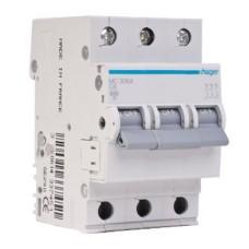 Автоматичний вимикач Hager MC 310А 10A 3p C