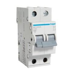 Автоматичний вимикач Hager MC 240А 40A 2p C