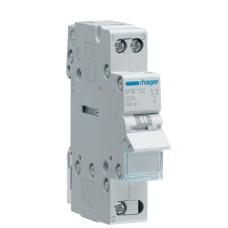 Перемикач навантаження SFT 125  1-0-2 25А 1p Hager