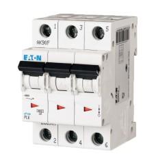 Автоматичний вимикач PL6-C25/3 25А 3п. Eaton