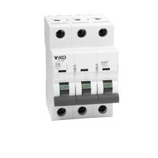 Автоматичний вимикач 4VTB-3C 32А 3п. VIKO