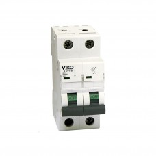 Автоматичний вимикач 4VTB-2C 16А 2п. VIKO