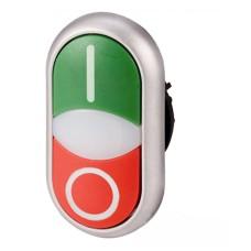 Кнопка M22-DDL-GR-X1/X0 Старт Стоп з сигнальною лампою Eaton