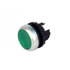 Головка кнопки M22-DL-G з підсвіткою зелена  Eaton