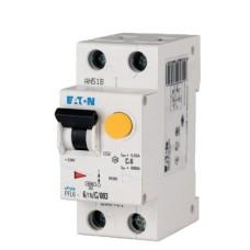 Диференційний автоматичний вимикач PFL6-6/1N/C/0.03 6А 30мА 1+Нп. Eaton