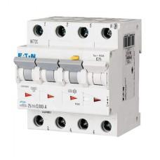 Диференційний автоматичний вимикач mRB4-25/3N/C/0.03 25А 30мА 3+Нп. Eaton
