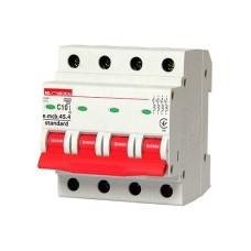 Автоматичний вимикач e.mcb.stand.45.4.C10 4p E.next