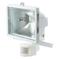 Прожектор LHF 500Вт з датчиком руху білий MAGNUM