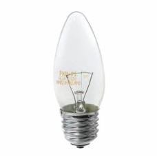 Лампа розжарення B35 40Вт Е27 свічка прозора BELSVET