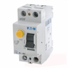 Пристрій захисного відімкнення PF6-25/2/0.03 25А 30мА 2п. Eaton
