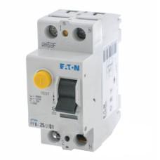 Пристрій захисного відімкнення PF6-25/2/0.1 25A 100мА 2п. Eaton