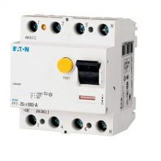 Пристрій захисного відімкнення PF7-25/4/0.03-DE 25А 30мА 4п. Eaton