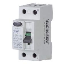 Пристрій захисного відімкнення 2p 40А 30мА  VIKO