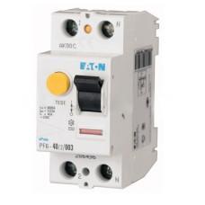 Пристрій захисного відімкнення PF6-40/2/0.03 40А 30мА 2п. Eaton