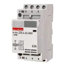 Контактор модульний на Din-рейку e.mc.220.4.63.4NO E.NEXT