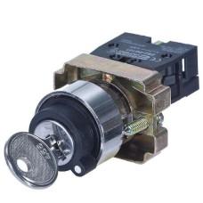 Перемикач XB2-BG21 1NO 2-позиційний поворотний ключ  АскоУкрем