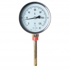 Термометр біметалічний ТБ-100-100 (0...+120)-1.5-Р Склоприлад