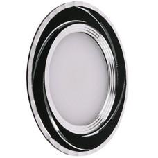 LED Panel (круг) AL777 5W 400Lm 4000K 93*28мм (вбуд.68мм) 10LED чорний Feron
