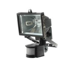 Прожектор LHF 500Вт з датчтком руху чорний MAGNUM