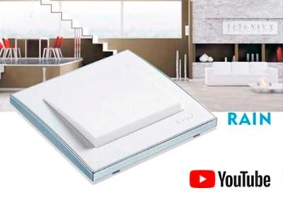 Розетки та вимикачі серії RAIN Lezard - конструкція та підключення