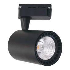 Світлодіодний світильник трековий LYON-10 10W чорний