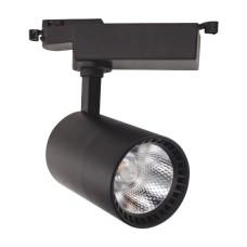 Світлодіодний світильник трековий LYON-18 18W  чорний