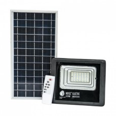 Прожектор світлодіодний з сонячною панеллю TIGER-25 25W 6400K