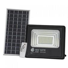 Прожектор світлодіодний з сонячною панеллю TIGER-60 60W 6400K